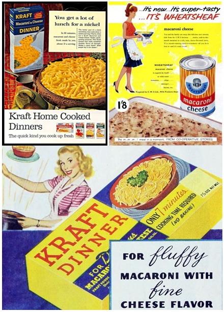 Mac and Cheese korabeli reklamok
